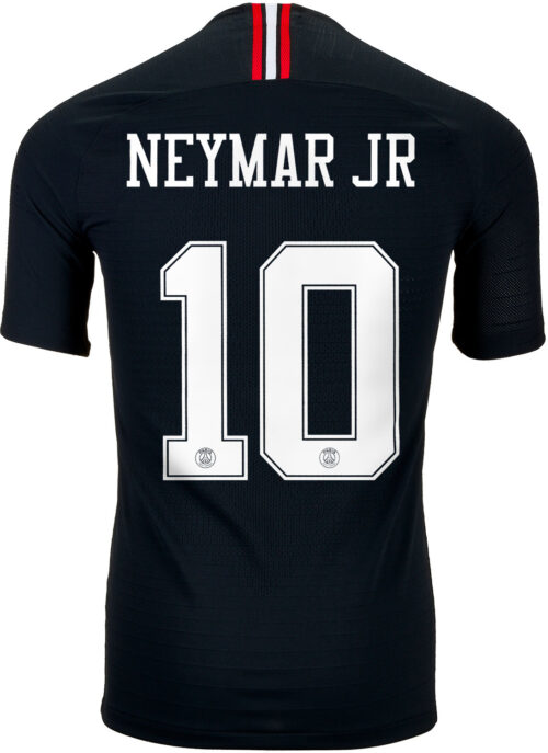 Youth 2018/19 Nike Neymar Jr Psg 3rd Jersey Nameset