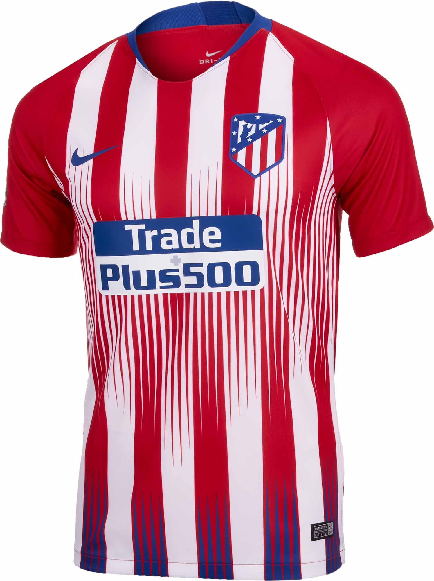 Nike Atletico Madrid Home Jersey 2018-19 - SoccerPro 04f3681f7