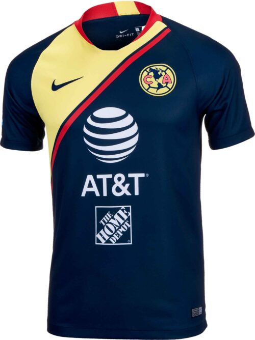 Nike Club America Away Jersey – Armory Navy/Gym Red