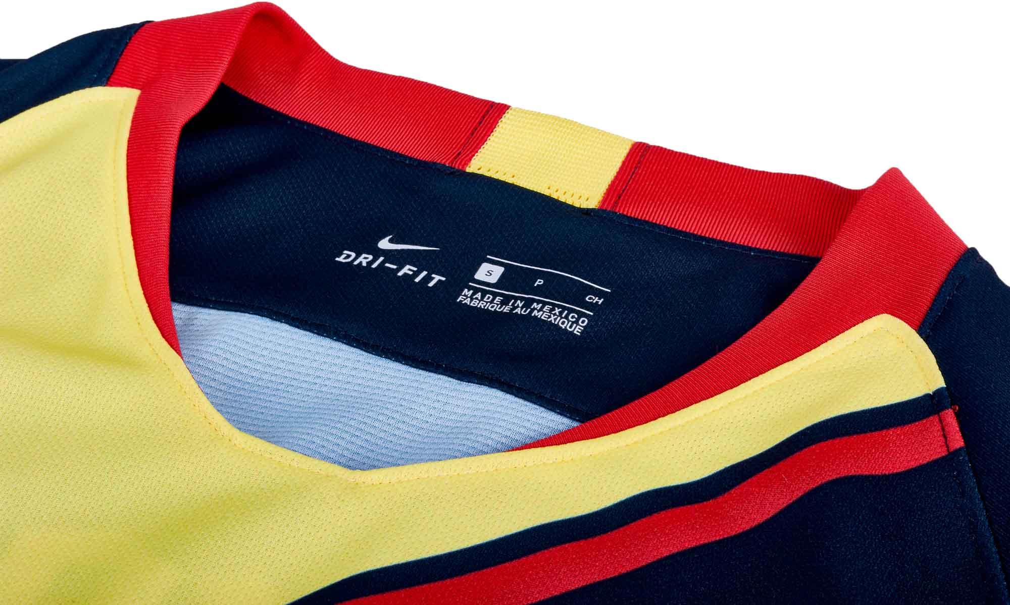 low priced ec6e8 b7bab Nike Club America Away Jersey - Armory Navy/Gym Red - SoccerPro