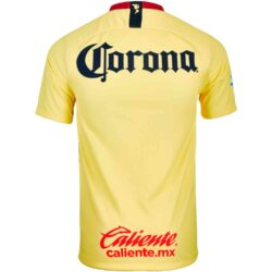 feb63fef807 Nike Club America Home Jersey - Lemon Chiffon Gym Red Armory Navy -  SoccerPro