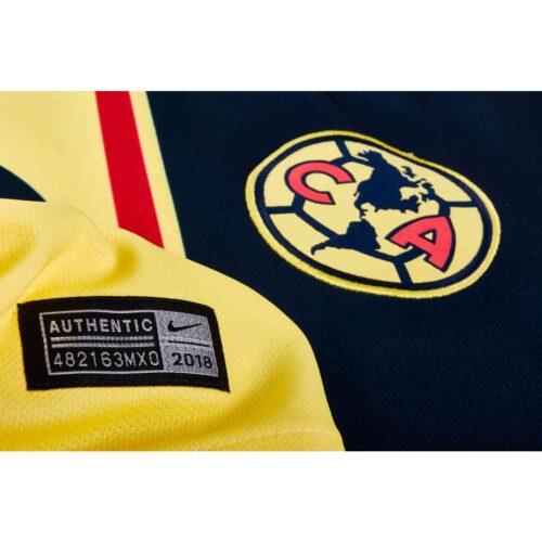 Nike Club America Home Jersey – Lemon Chiffon/Gym Red/Armory Navy
