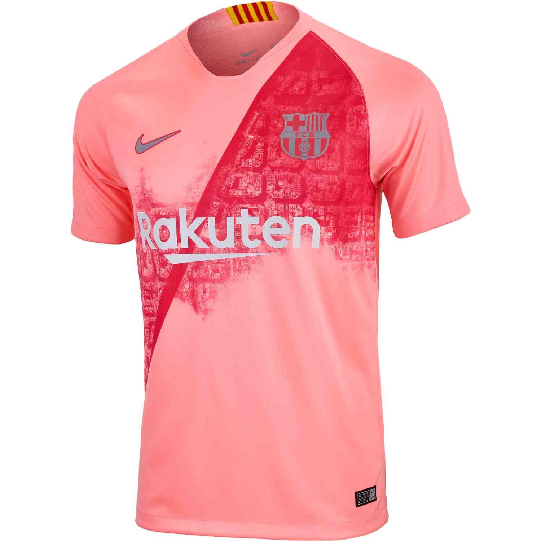 2018 19 Nike Barcelona 3rd Jersey - SoccerPro b86a649c485e9