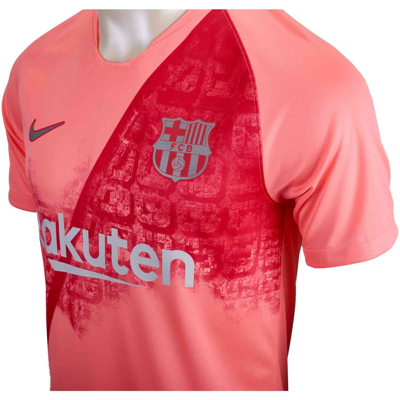 2018 19 Nike Lionel Messi Barcelona 3rd Jersey - SoccerPro de6e89ab0