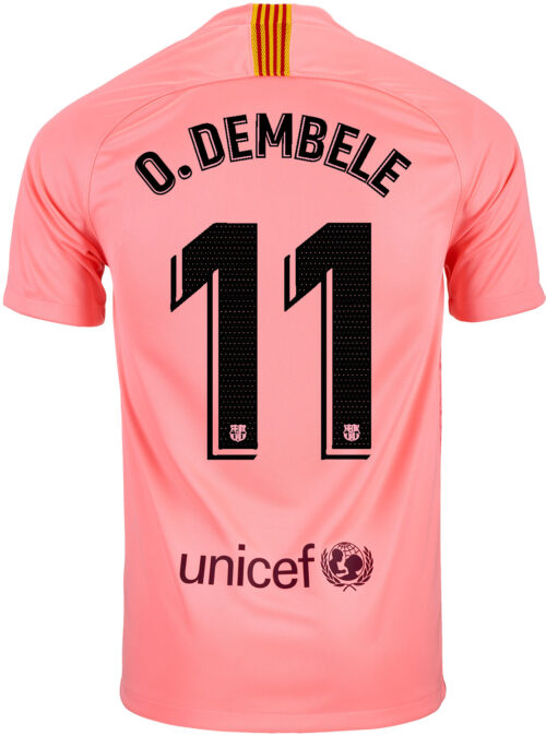 2018/19 Nike Ousmane Dembele Barcelona 3rd Jersey