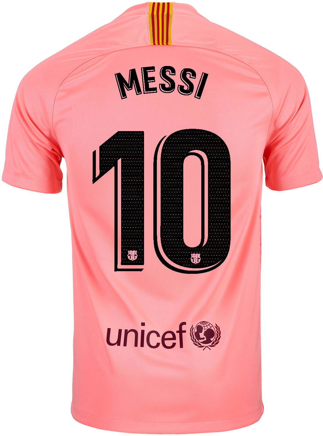 various colors 856b4 f5516 2018/19 Nike Lionel Messi Barcelona 3rd Jersey - SoccerPro