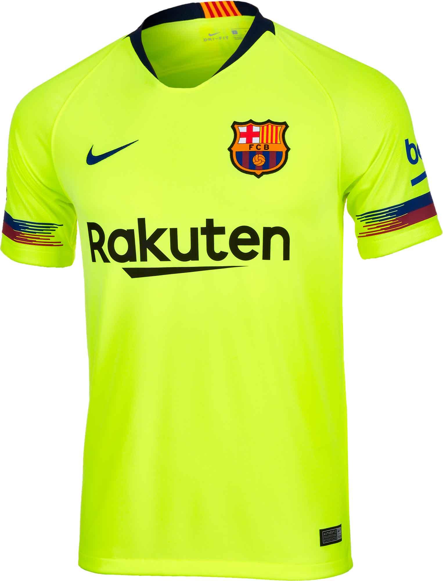 Nike Away Barcelona Away Nike Jersey 2018 19 Soccerpro d5e5e6