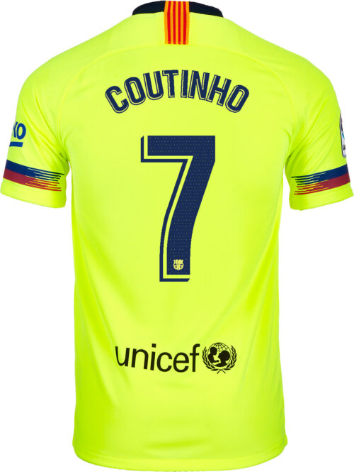 2018/19 Nike Philippe Coutinho Barcelona Away Jersey