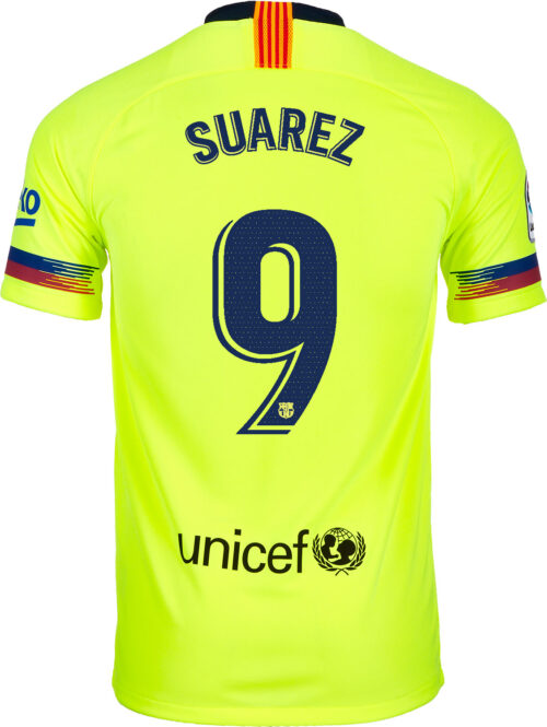 2018/19 Nike Luis Suarez Barcelona Away Jersey
