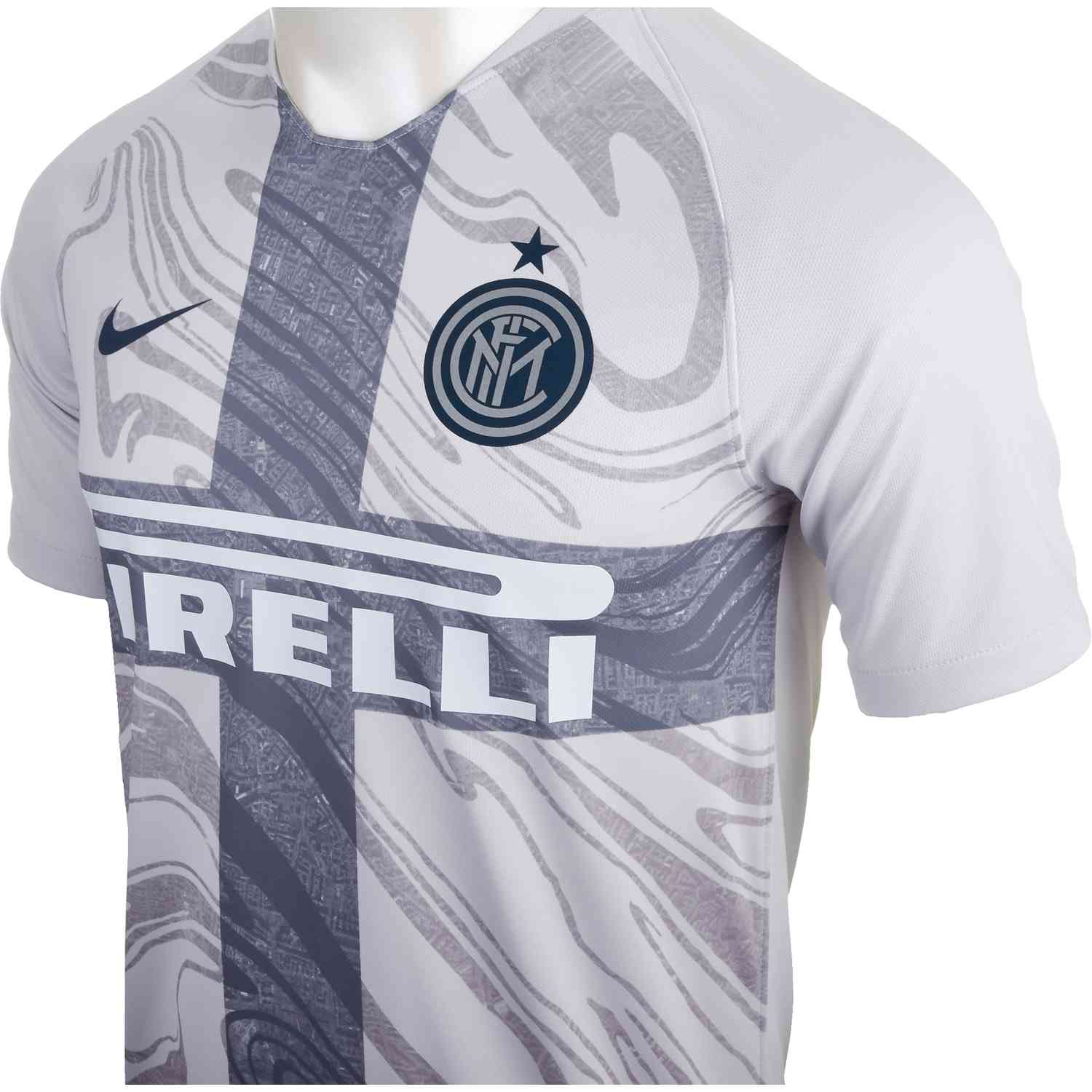 huge discount 691f4 0c317 Nike Inter Milan 3rd Jersey - Vast Grey/Thunder Blue - SoccerPro