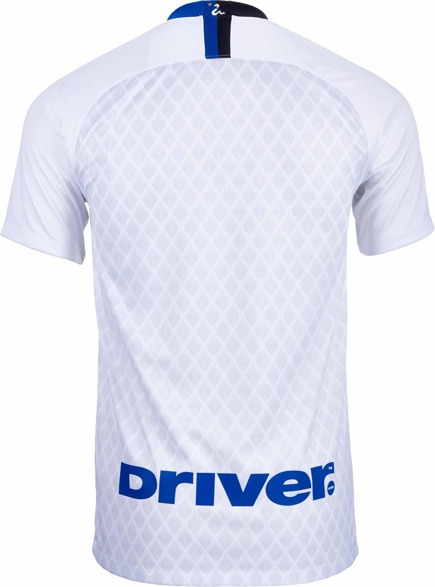 best service bcd76 9849b 2018/19 Nike Inter Milan Away Jersey - White/Black - SoccerPro