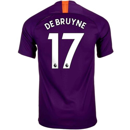 2018/19 Nike Kevin De Bruyne Manchester City 3rd Jersey