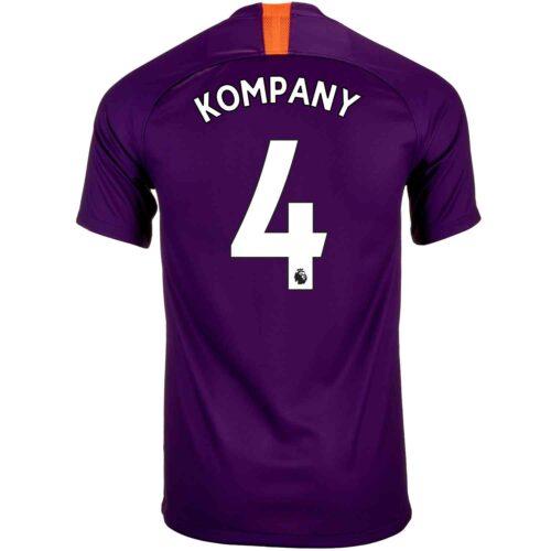 2018/19 Nike Vincent Kompany Manchester City 3rd Jersey