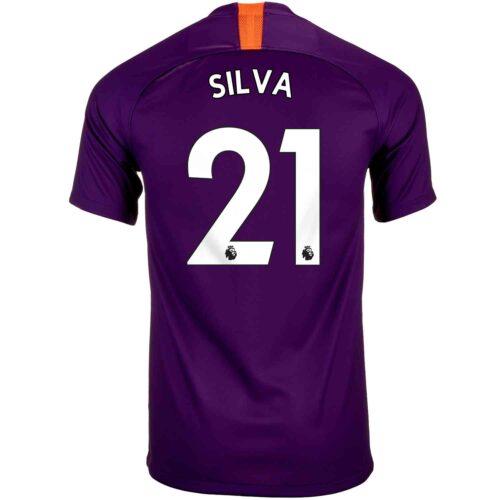 2018/19 Nike David Silva Manchester City 3rd Jersey