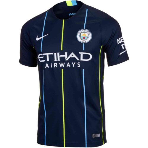 2018/19 Nike Manchester City Away Jersey