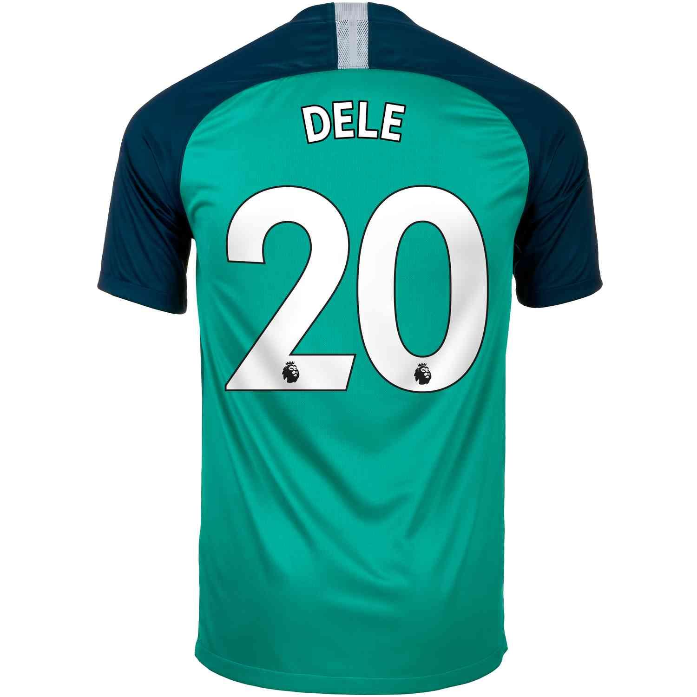 new style be20d fede8 2018/19 Nike Dele Alli Tottenham 3rd Jersey - SoccerPro
