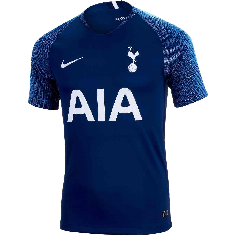 610e1a238 2018/19 Nike Tottenham Away Jersey - SoccerPro