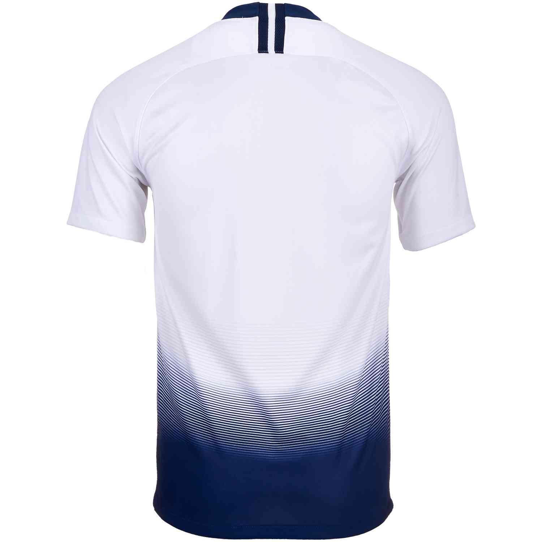 503b5a07a6a3 2018 19 Nike Tottenham Home Jersey - SoccerPro