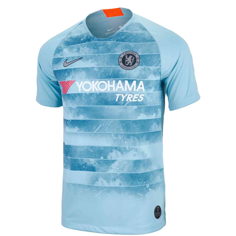 cbeeb6c35 2018/19 Nike Chelsea 3rd Jersey - SoccerPro