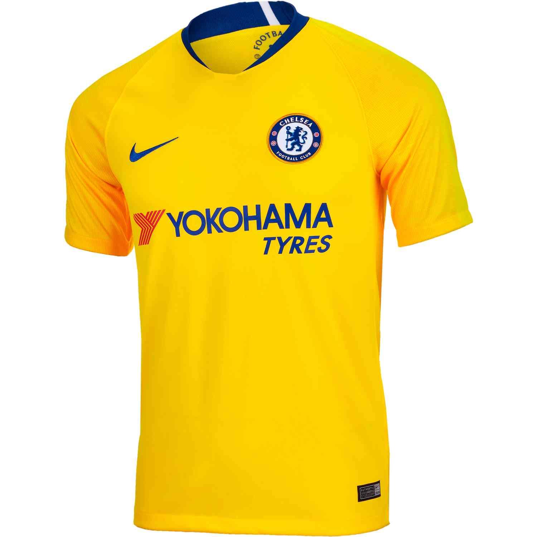 4b23a8b2d 2018/19 Nike Chelsea Away Jersey - SoccerPro