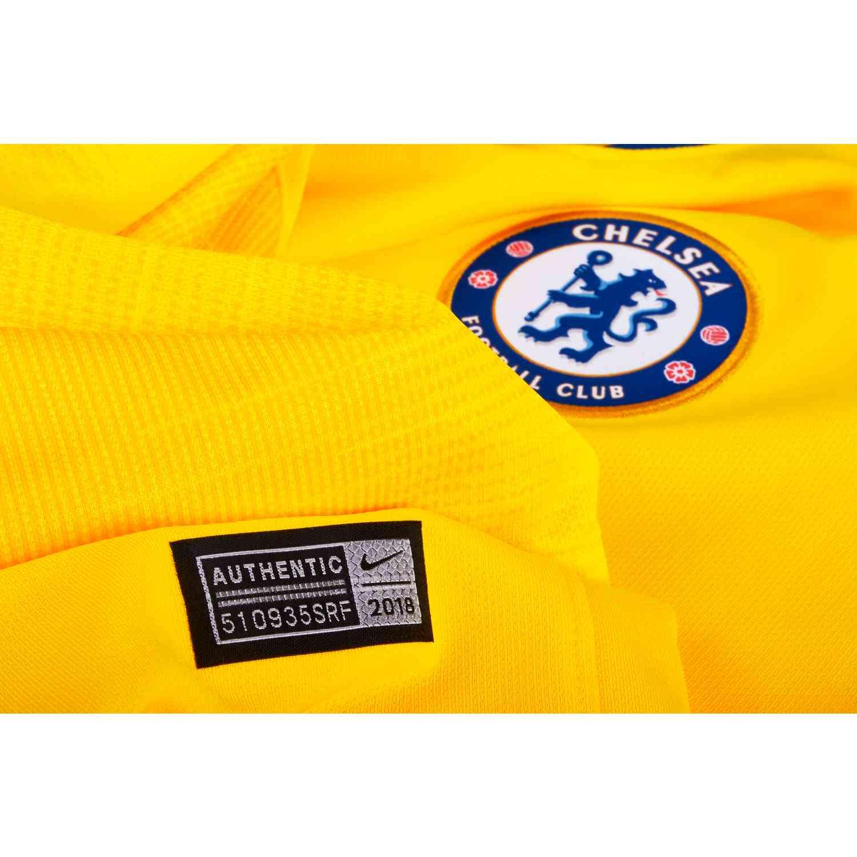 87f698f98 2018 19 Nike Chelsea Away Jersey - SoccerPro