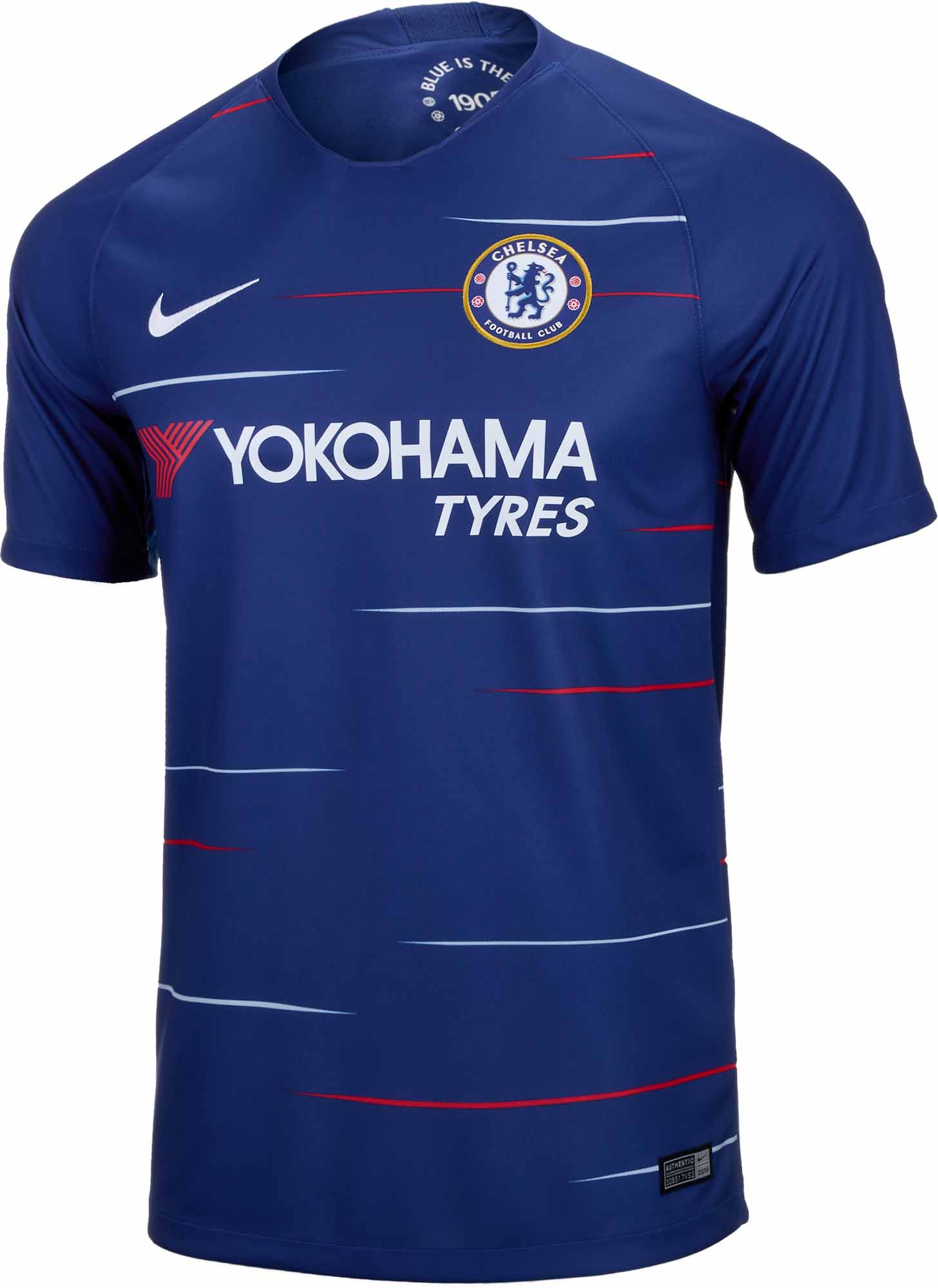 more photos 908c2 f11e2 2018/19 Nike Chelsea Home Jersey - SoccerPro