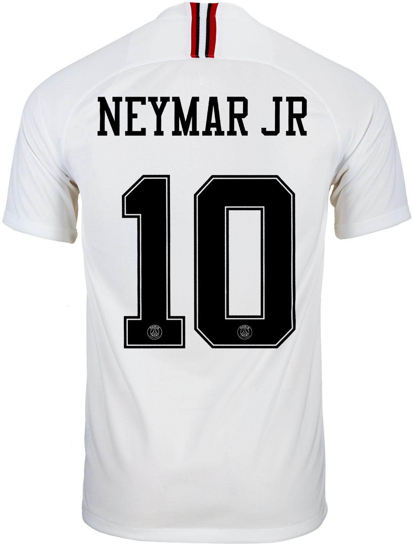 918f88139 2018 19 Jordan Neymar Jr PSG 4th Jersey - SoccerPro