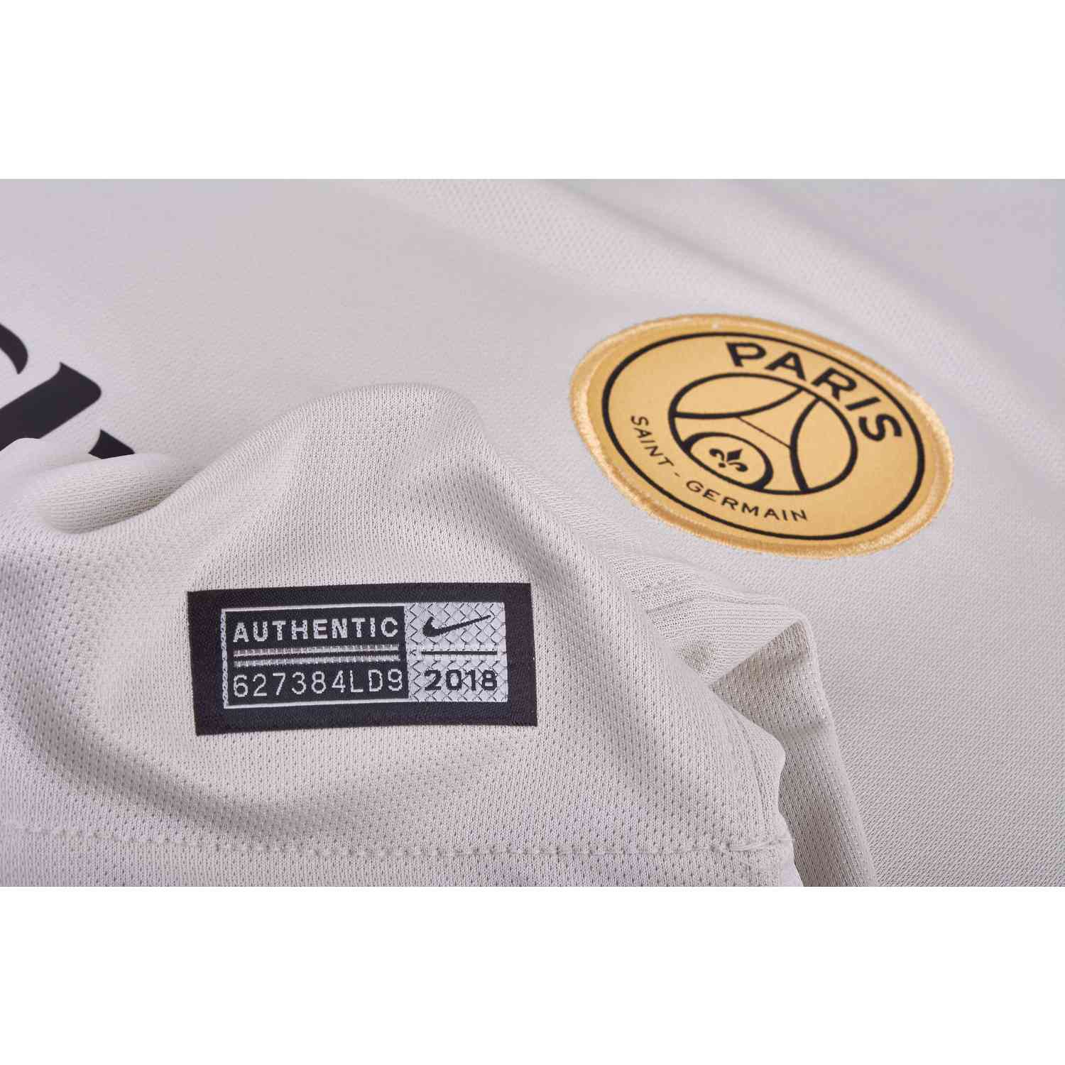 Nike PSG Away Jersey - Light Bone Truly Gold - SoccerPro 5ca11b9e03b