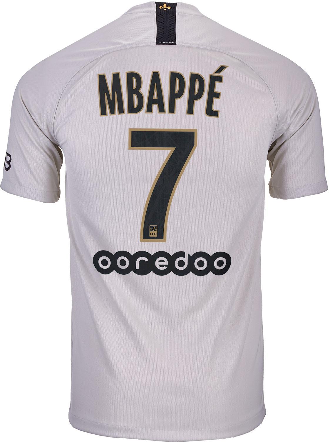 mbappe away kit
