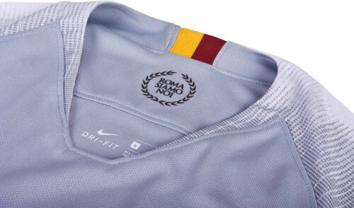 Nike Roma Away Jersey – Wolf Grey/Black