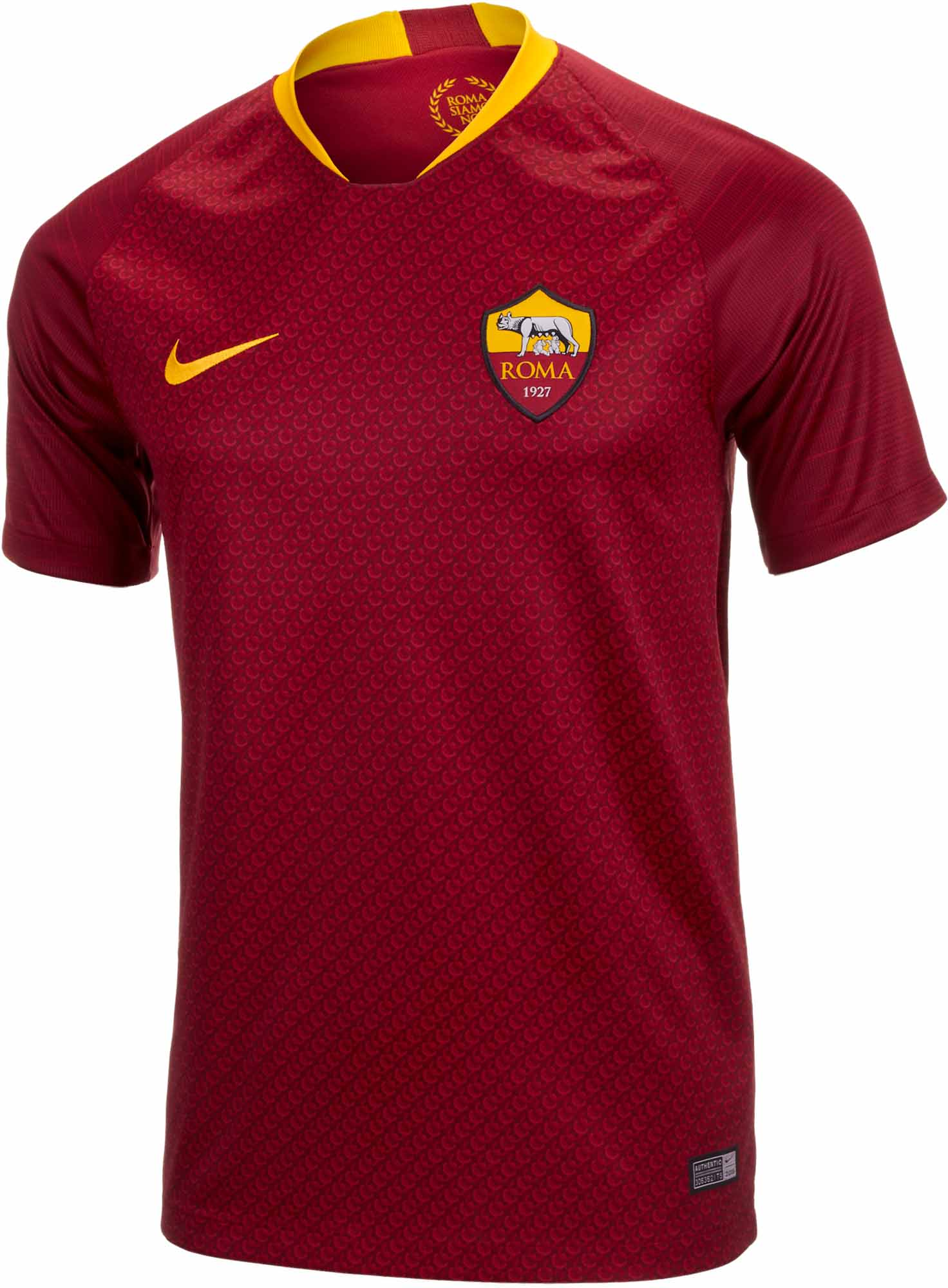 Nike Roma Home Jersey 2018-19 - SoccerPro