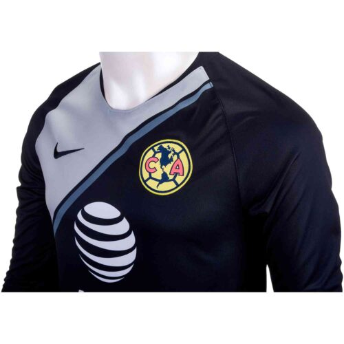 Nike Club America GK Jersey – Black/Wolf Grey