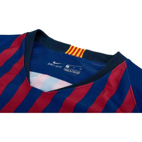 2018/19 Nike Barcelona Home L/S Jersey