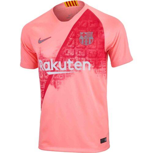 2018/19 Nike Kids Barcelona 3rd Jersey
