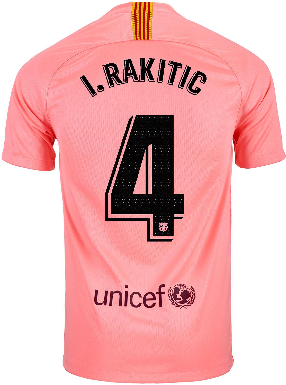e4bda55ac 2018 19 Kids Nike Ivan Rakitic Barcelona 3rd Jersey - SoccerPro