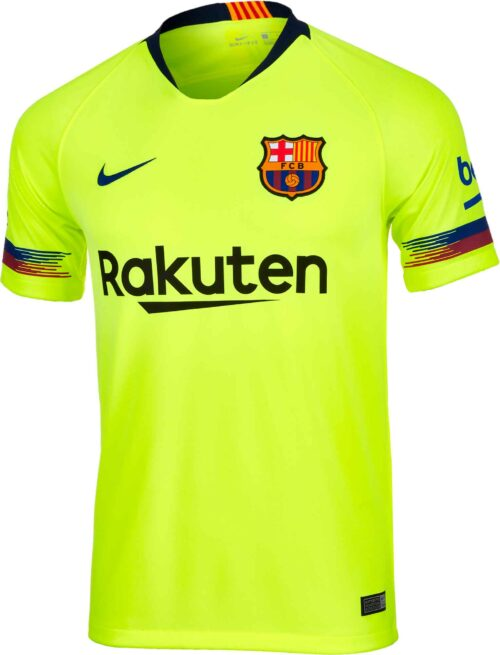 5a774dcc3 2018 19 Kids Nike Barcelona Away Jersey