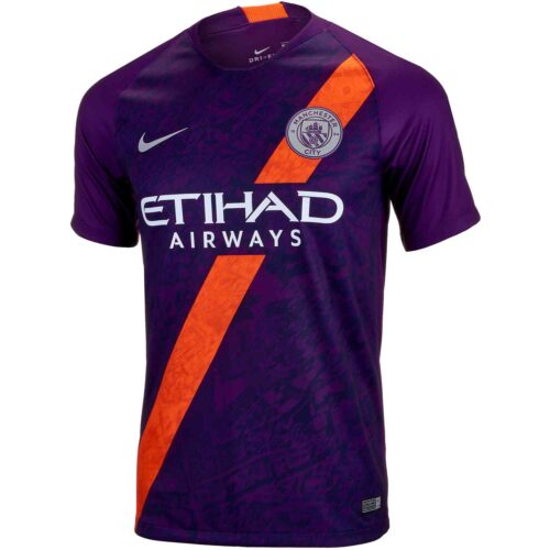 Youth 2018/19 Nike David Silva Manchester City 3rd Jersey