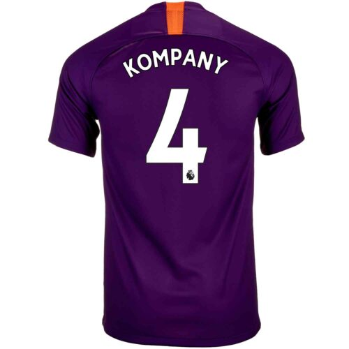 Youth 2018/19 Nike Vincent Kompany Manchester City 3rd Jersey