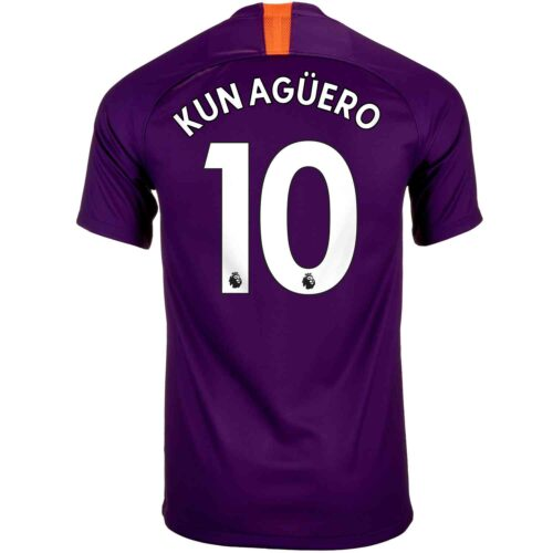 2018/19 Youth Nike Sergio Aguero Manchester City 3rd Jersey