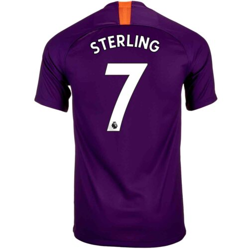 2018/19 Youth Nike Raheem Sterling Manchester City 3rd Jersey