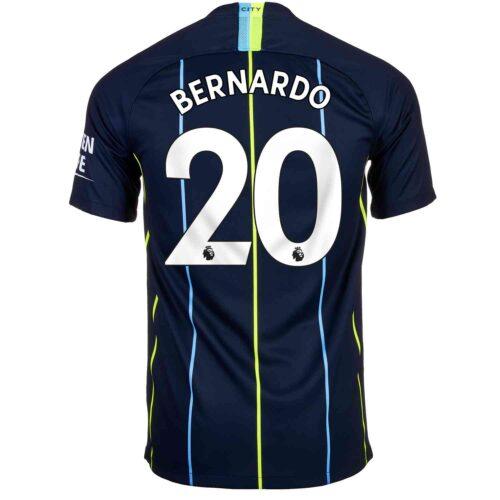 2018/19 Kids Nike Bernardo Silva Manchester City Away Jersey