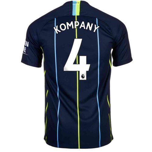 2018/19 Kids Nike Vincent Kompany Manchester City Away Jersey