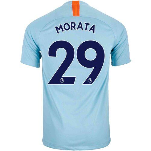 2018/19 Kids Nike Alvaro Morata Chelsea 3rd Jersey