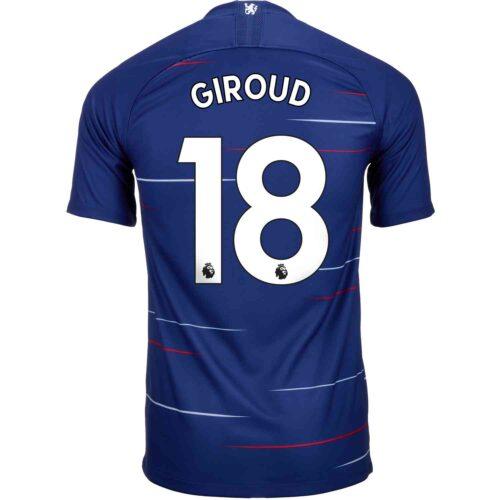 2018/19 Kids Nike Olivier Giroud Chelsea Home Jersey
