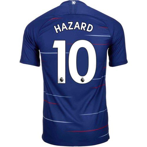 2018/19 Kids Nike Eden Hazard Chelsea Home Jersey