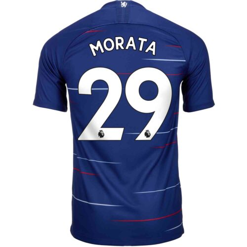 2018/19 Kids Nike Alvaro Morata Chelsea Home Jersey