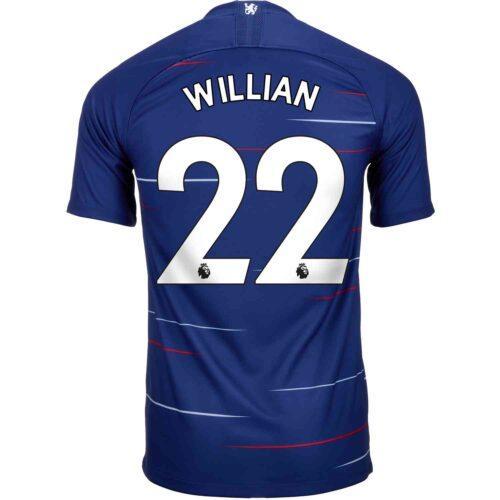 2018/19 Kids Nike Willian Chelsea Home Jersey