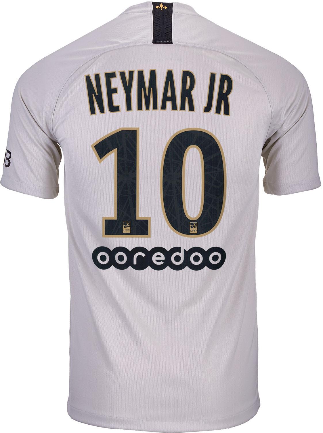 a153c97e9f7 Nike Neymar Jr. PSG Away Jersey - Youth 2018-19 - Cleatsxp