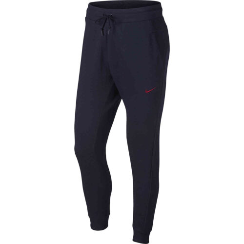 Nike Barcelona Jogger – Obsidian/Cobalt Tint/Heather/Noble Red