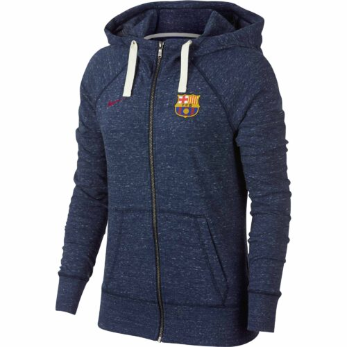 Nike Barcelona Vintage Hoodie – Womens – Obsidian/Sail/Noble Red
